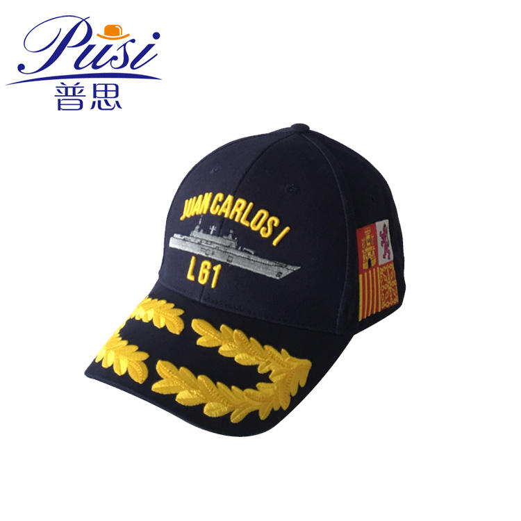 Get free sample delivery within 15 days Wholesale Custom 6 panel 3d embroidery logo round military army caps and hats