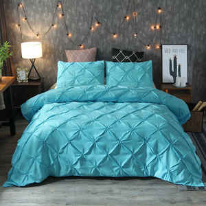 wholesale environmental printing 100% polyester duvet cover set bedding set