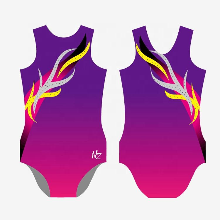 China Wholesale Custom Made Gymnastic Leotard For Child
