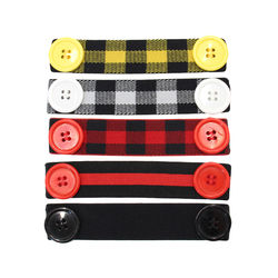 Fashion Wholesale New Design Arrival Multi Color Patterns Customized Logo Elastic Band Ear Helper Saver Straps