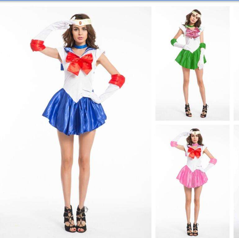 Ecoparty Sailor Moon <span class=keywords><strong>Kostuum</strong></span> Anime Superhero Cosplay Japanse <span class=keywords><strong>School</strong></span> <span class=keywords><strong>Meisje</strong></span> Uniform Venus