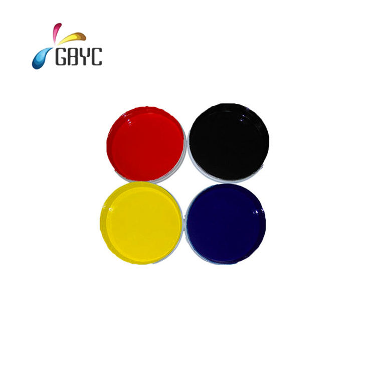 OEM professional flexo printing waterproof eco-friendly inkjet printing ink for cigarette bag/wine bag/ food printing