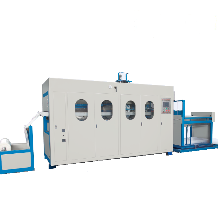 Automatic disposable plastic foam thermocol plate making machine