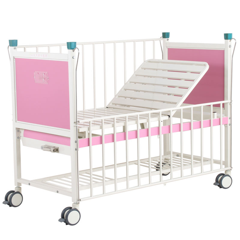 Hot-selling Children medical bed one crank Manual Medical Pediatric Hill Rom Hospital Bed for sale