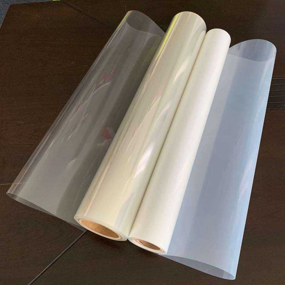 Wholesale proofing media 100mic transparent inkjet screen printing pet film