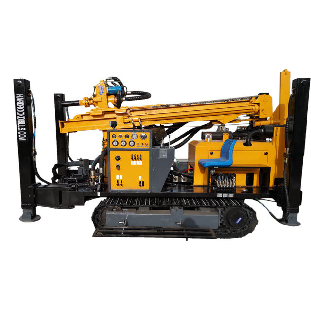 Factory direct sale dth drill rig drilling crawler rigs for philippines