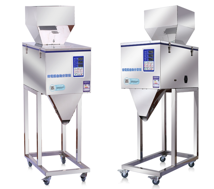 Factory Outlet 20-3000g Semi Automatic Vertical Intelligent Particle Powder Weighing Filling Machine/Rice Filling Machine