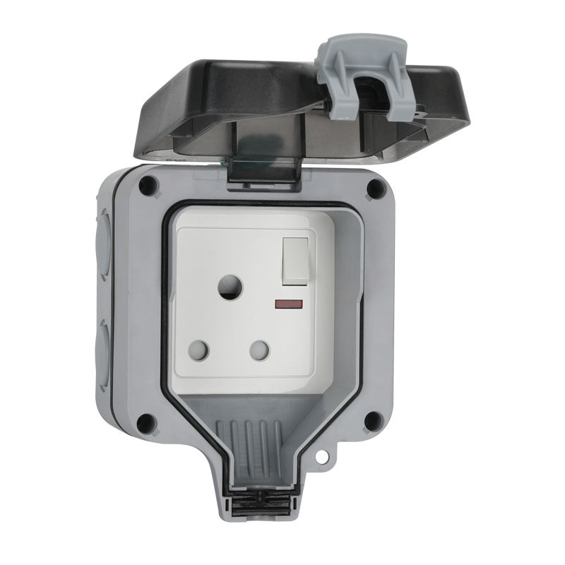 Superior Plastic Socket Enclosure Waterproof PVC Junction Box with Switch Plug