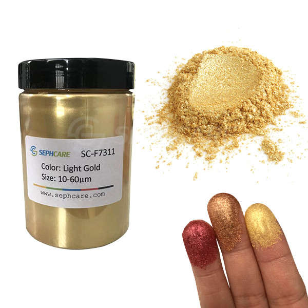 Sephcare Cake Food Coloring Gold Edible Luster Dust for Cake Icing /Fondant