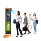 Ai Outdoor Tepemrature Kiosk Face Recognition Kiosk Interactive Digital Signage and Displays Advertising Players