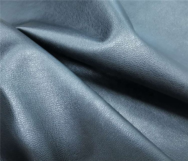 PU leather for garment with suede backing