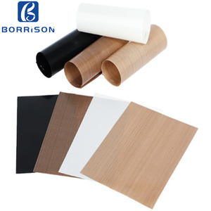 Teflonning PTFE Fabric PTFE Coated High Temperature Glass Cloth Sheet for Heat Press