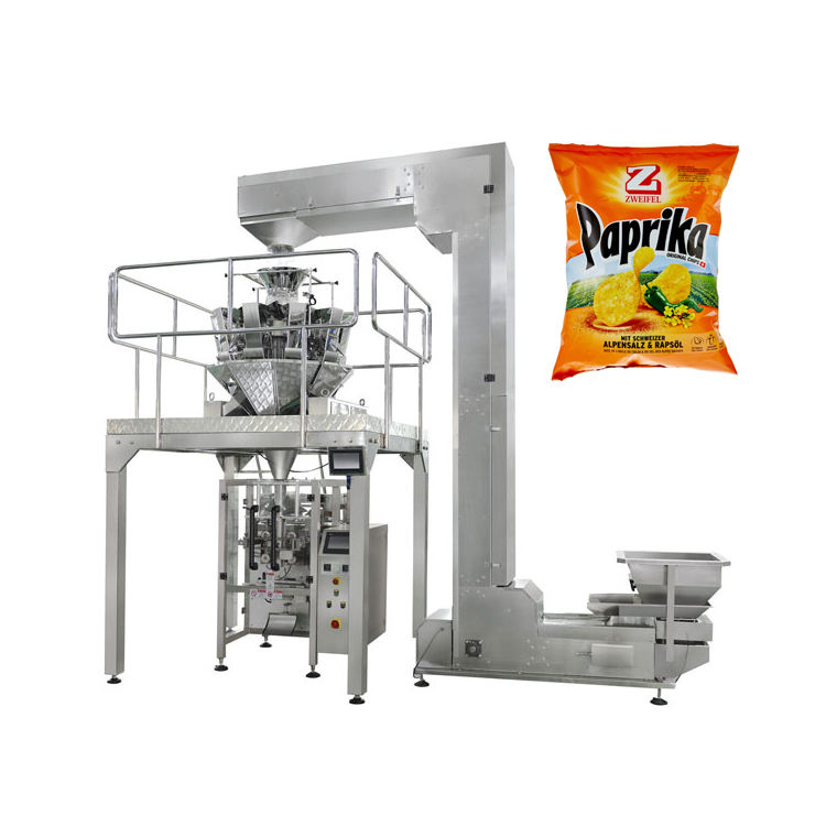 Cheap price snack chips packing machine automatic