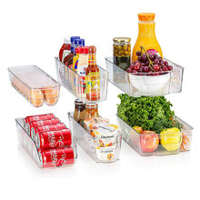 Wholesale Refrigerator Organizer Bins Save Space Kitchen Organizer Plastic Fridge Organizer