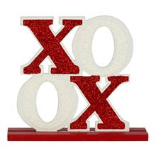 Valentine's Day Gift MDF Tabletop Sign/X.O.X.O