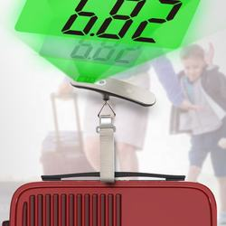 Factory direct sale 50KG electronic digital hanging luggage scale high quality portable electronic scale