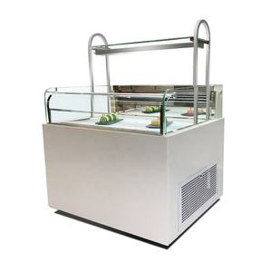 Commercial Food Single Side Opening Sandwich Showcase Shop Refrigerated Cabinet