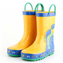 Manufactures In Stock Cartoon Safety Rubber Kids Children Wellington Boots