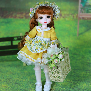 DBS 30cm bjd doll 1/6 dream fairy doris 28 joints body doll bjd lolita vintage for girls gift toys