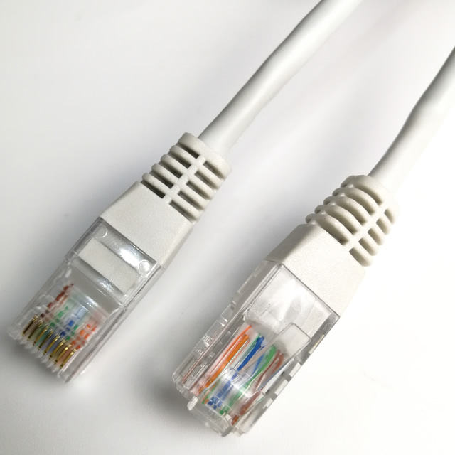 UTP 24AWG CAT 5e Ethernet Patch Cable RJ45 Computer Network LAN Cable