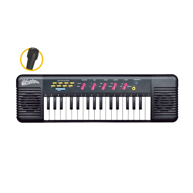 Kids 32 keys multifunction electronic piano toy keyboard with microphone HC493839