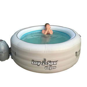 HOT SALE BESTWAY LAY Z SPA AIRJET INFLATABLE MASSAGE LED HOT TUB MODEL 2-6 PERSON