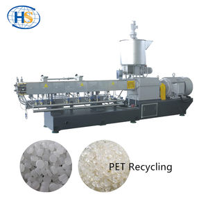 Pet-fles recycling afval plastic korrels making machine