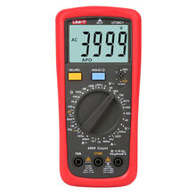 UNI-T UT39C+ AC DC Digital Multimeter NCV on/off Buzzer Digital Hold Relative Value Measurement Multimeter Unit
