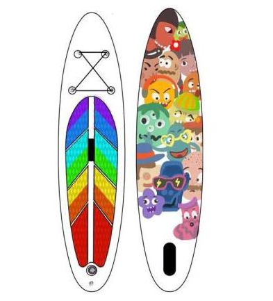 Cina OEM galleggiante gonfiabile surf sup stand up paddle board