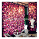 Wedding Decorative Backdrop Panels Artificial peony flower wall