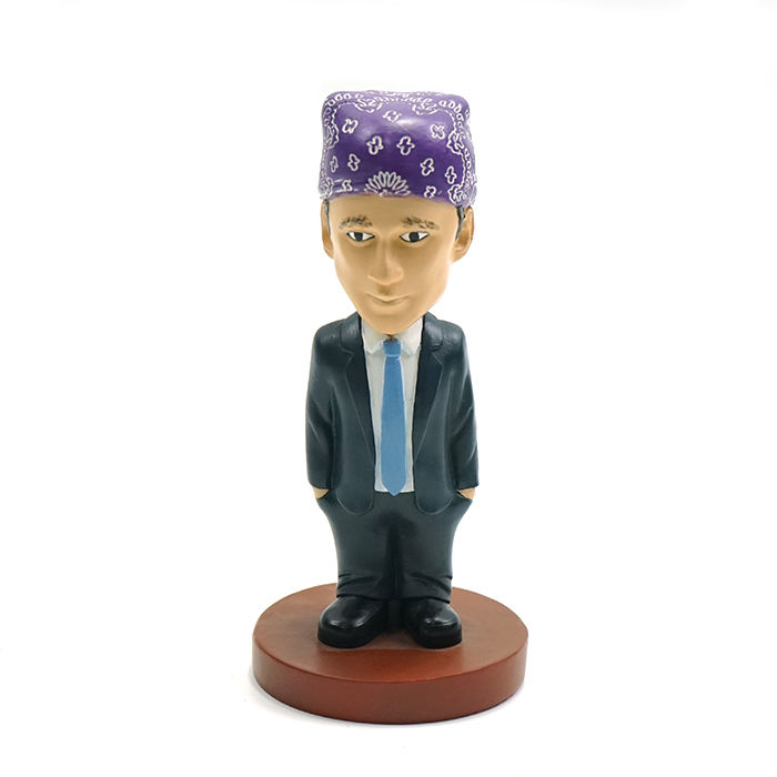 Custom dashboard bobbleheads Resin statue personal design bobble head