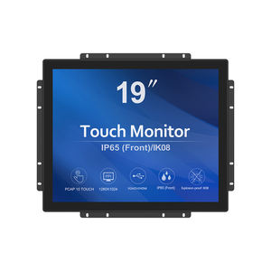 GreenTouch 19 inch PCAP industrial touchscreen monitor   open frame touch display