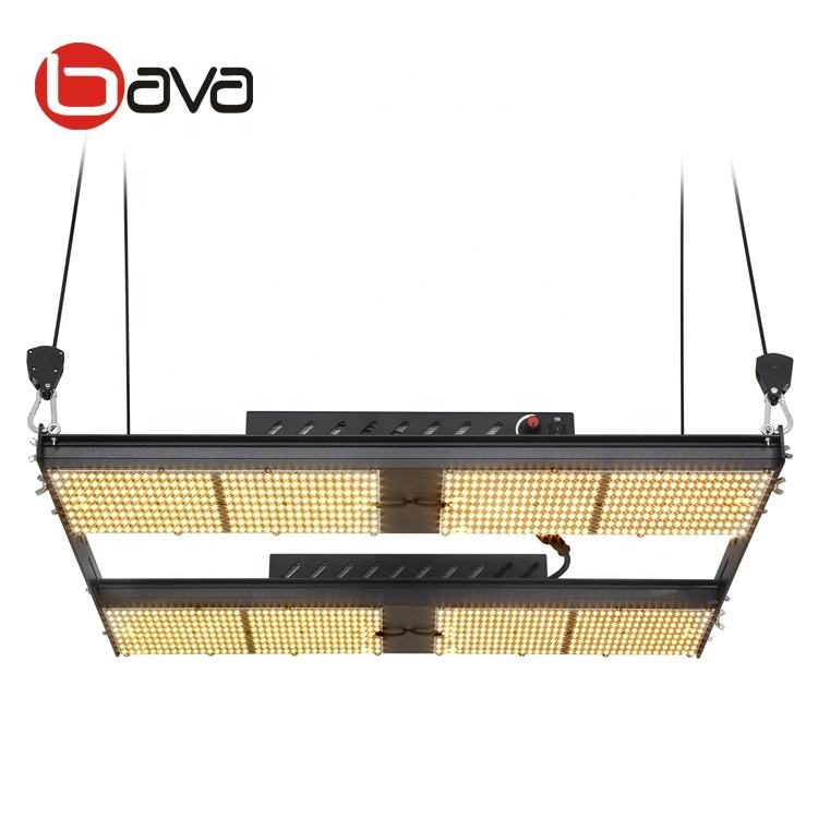480w full spectrum bava samaung lm301b white 3000k dimmable led grow light