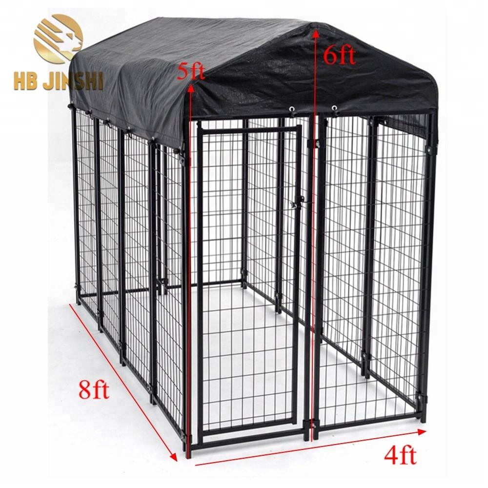 Kennel hond/outdoor hondenkennel maat 8' x 4' x 6' etc