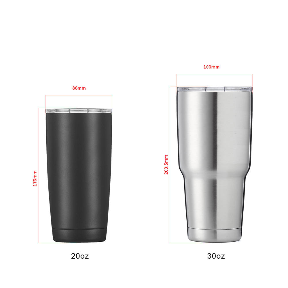 Hot Sale Eco-Friendly Metal Stainless Steel 304 Tumbler Drinking Cooler Mug Beer Cup