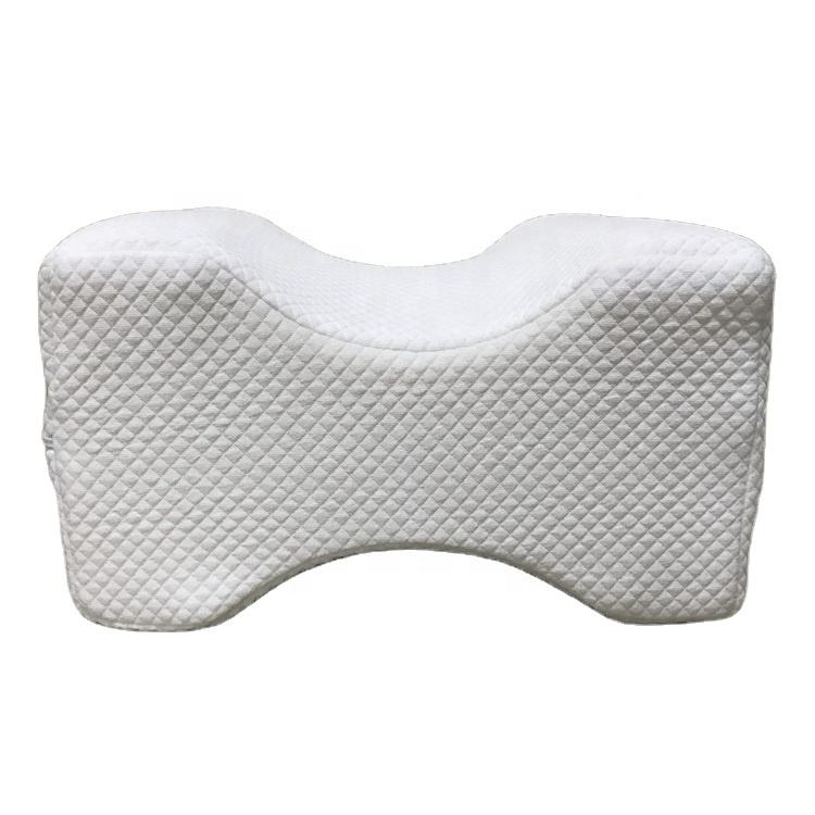 Memory Foam Wedge Contour Knee Pillow for Pain Relief Leg Rest Knee Pillow