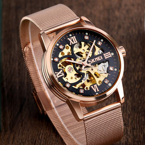skmei brand 9199 original mechanical watches men luxury OEM customize quartz watch