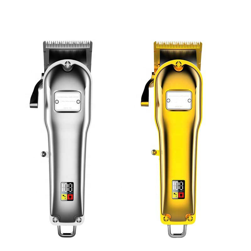 Per uso domestico Elettrico cordless Clippers Display LCD salon barber shop <span class=keywords><strong>hair</strong></span> <span class=keywords><strong>stylist</strong></span> trimmer