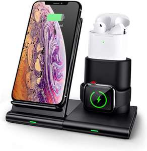 Hot selling 3 in 1 wireless charger fast qi wireless charger,wireless phone charger stand