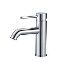 China Manufacturer Lead Free Brass Chrome Wash Hand Basin Faucets