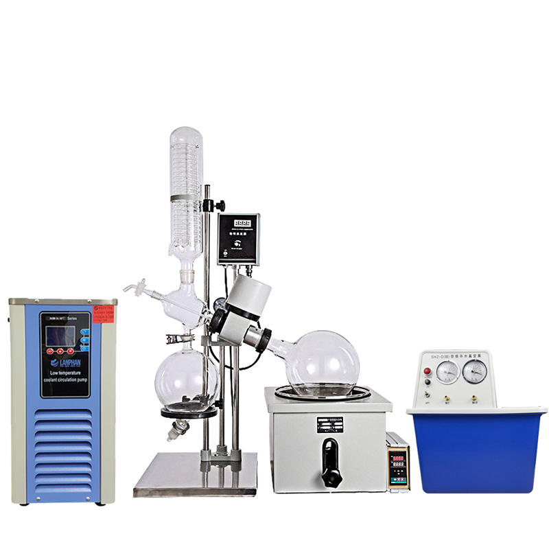 China Distillation Equipment Rotovap 5L 10L 20L 50L Vacuum Rotary Evaporator Price