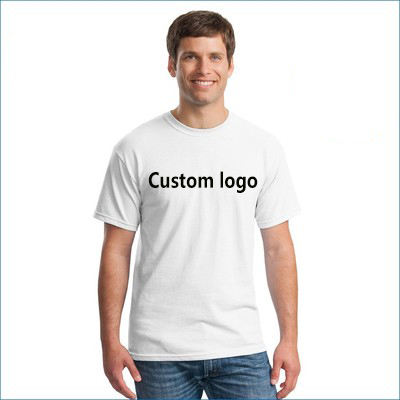 Best Price Custom Design Men's T shirt with Logo Printing Blank Plain tshirt for Sublimation