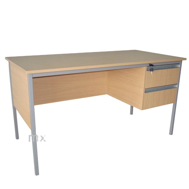 Commercial Executive Office Desk With Locking Drawers
