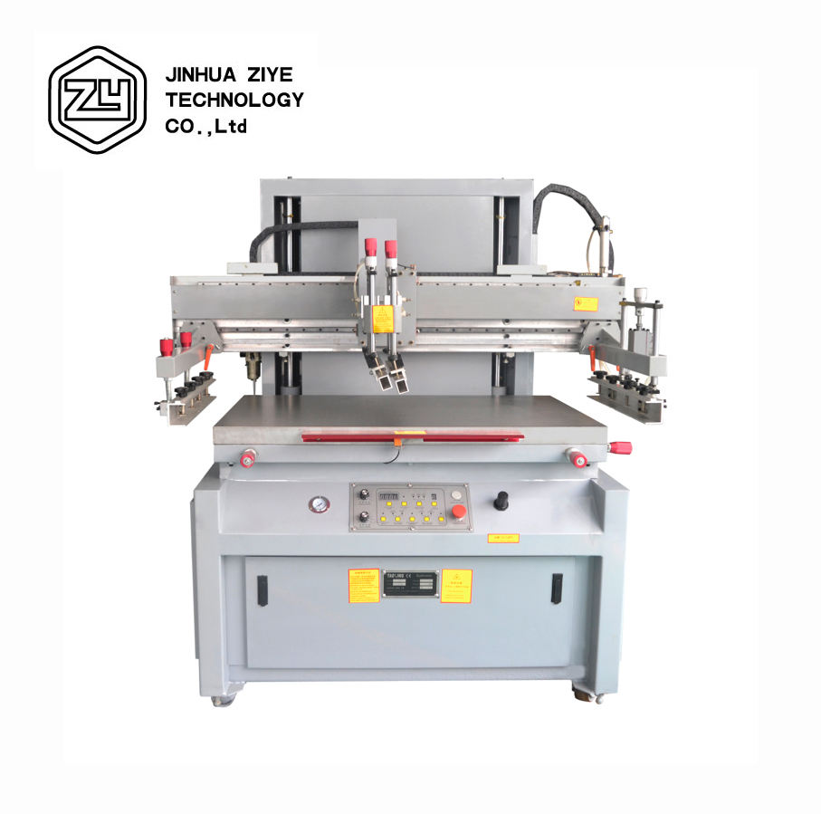 SPE5080 High Speed Metal Sheet Label Flat Silk Screen Printing Press Machine