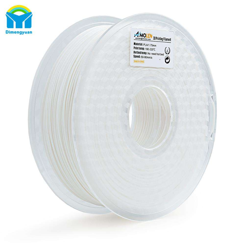 Gemakkelijk te gebruiken Geen verwarmd bed nodig 3D Printer PLA Filament 1.75mm Filament Dimensionale Nauwkeurigheid +/-0.05mm 1KG voor FDM 3D Printer