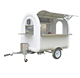 Street snack vending equipment coffee food trailer/Towing Dolly Trailer Shopping Snacks Truck