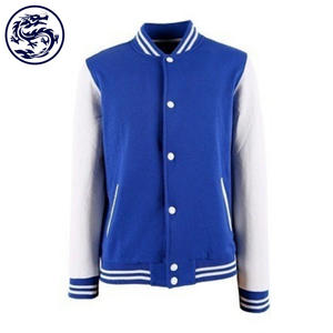 BSCI Custom Letterman Varsity Jacket Wholesale Blank Baseball Jacket for Men College Jacket