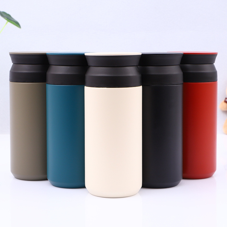 custom logo coffee travel mug, reusable modern coffee mug