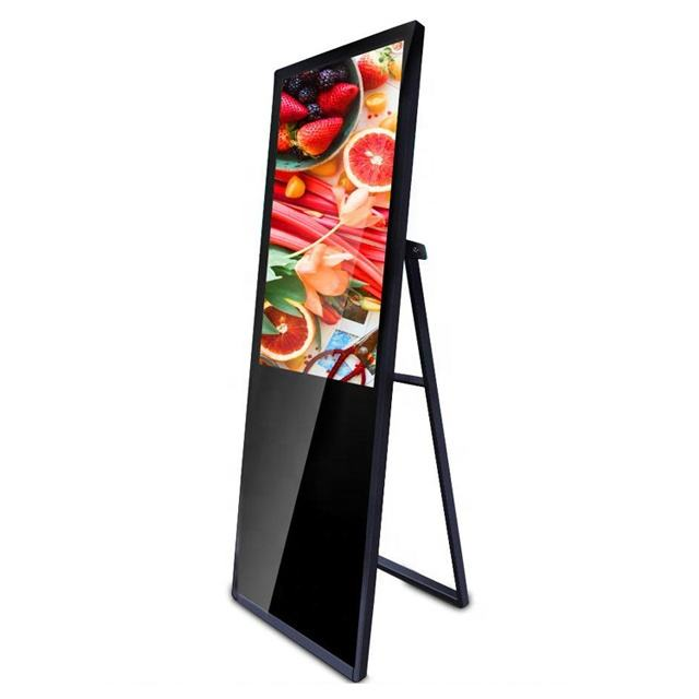 Hotel digital signage lcd display tragbare digitale video media player werbung kiosk