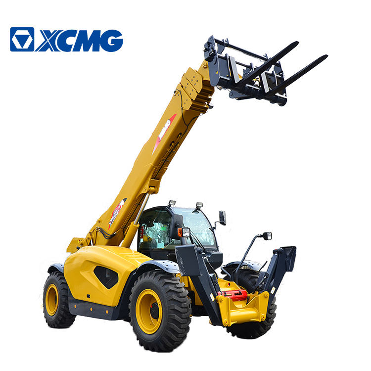 XCMG 17 Meter Height Telescopic Boom Loaders 4.5ton Telehandlers Forklift Loader 82kW Engine XC6-4517K